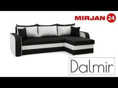 Colțarul pentru sufragerie Dalmir Lux a fost fabricat din componente de bună calitate. Are un șezlong confortabil pentru somnul de după-amiază și funcție de dormit. Couch, Furniture, Home Decor, Settee, Sofa, Couches, Interior Design, Sofas, Home Interior Design