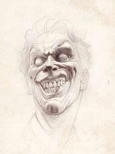 Some portraits hatching training , Tima Akai Anatomy Sketches, Anatomy Art, Joker Art, Batman Art, Pencil Art Drawings, Art Drawings Sketches, Joker Sketch, Arte Dc Comics, Illustration Art