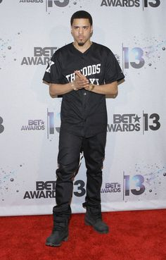 j.cole | Cole Recording Artist J. Cole poses in the Backstage Winner's Room ...