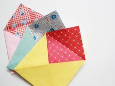 DIY Lined Envelopes for Frankie Magazine