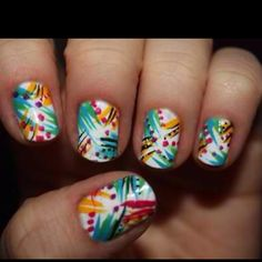 Awesome nails- cruise and summer time!