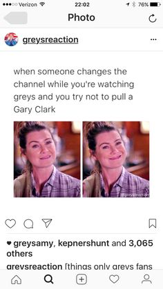 a gary clark // p i n t e r e s t ▹ maddiewinterhalder Greys Anatomy Funny, Greys Anatomy Facts, Grey Anatomy Quotes, Grey's Anatomy Merchandise, Gary Clark, Grey Quotes, Dark And Twisty, Grey Stuff, Youre My Person