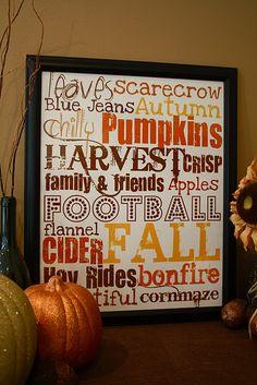 It's Fall Y'All! Free Printable