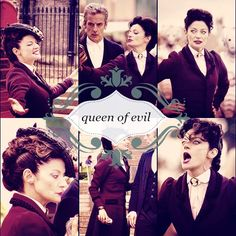 ''Missy - Queen of Evil''  (Doctor Who - BBC Series) source: Missy the Master
