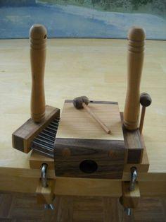 Benjamin Green Standard Wool Combing Kit door BenjaminGreenStudio