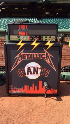 "This is from ""SFGiantsMLB"" Snapchat Story the other day when Metallica was at the SF Giants Game for Metallica Day on May 2, 2015"