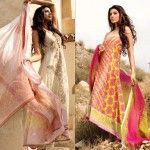 nice Sana Safinaz Winter Weather 2013-2014 Type Designs for Ladies