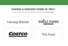Non-members can get Costco groceries delivered to their home using Instacart .