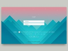 login designed by Sebastiaan Scheer. Connect with them on Dribbble; Login Page Design, Web Ui Design, App Login, Login Form, Sign Up Page, Ui Design Inspiration, Design Trends, Application Design, Ui Web