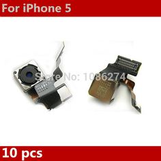 wholesale 10 x Original New Replacement Back Camera Rear Camera Module With Flash for iPhone 5 5G Free Shipping|7020e18f-7805-4605-911f-3ca02996cc8b|Camera Modules