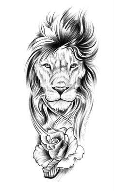 Lion Forearm Tattoos, Lion Head Tattoos, Mens Lion Tattoo, Leo Tattoos, Animal Tattoos, Body Art Tattoos, Hand Tattoos, Tattoos For Guys, Lion Tattoo On Thigh