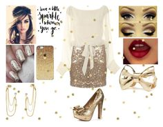 Wardrobe Staples: Glitter by fashion-1993 on Polyvore featuring Blink, Charlotte Russe and H&M