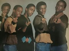 New Edition when Bobby was still in the group.