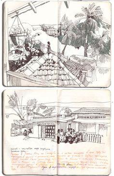 Gleb Solntsev | #travel #sketchbook