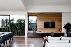 Award-Winning Brisbane Home Builders Minimalist House Design, Minimalist Home, Plantation Style Homes, Timber Walls, Custom Built Homes, Custom Home Builders, Home Interior Design, Interior Colors, Interior Ideas