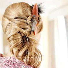 feather hair do #hair