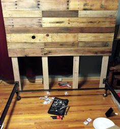 Thank You Pinterest: Pallet Headboard