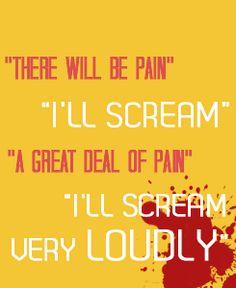 Jaime Lannister - painkillers are too mainstream lol