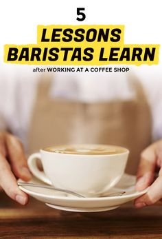 5 Things You Learn Working at a Coffee Shop   Extra Crispy