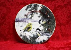 Lenox Winter Greetings Scenic Chickadees & by TheTinyMerchant