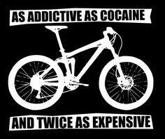 funny mountain bike t-shirt and true too lol