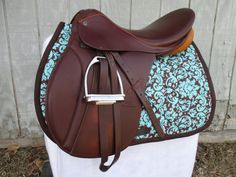 English AllPurpose Saddle Pad  Brown and by ChestnutMareCrafts, $64.95