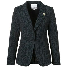 FABIENNE CHAPOT Victoria blazer ❤ liked on Polyvore featuring outerwear, jackets, blazers and blazer jacket