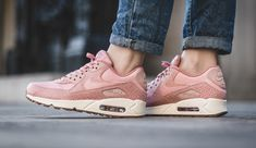 95ce16725eb6 The womens Nike Air Max 90 is treated in pink glaze for its latest  iteration this
