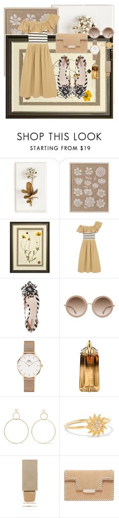 """""""Seeing Stripes"""" by tee-ray ❤ liked on Polyvore featuring Tommy Mitchell, The Natural Light, Sea, New York, Monse, Alice + Olivia, Daniel Wellington, Thierry Mugler, Natasha Schweitzer, Aamaya by Priyanka and Burberry"""