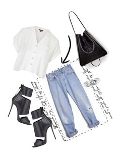 """""""Untitled #462"""" by fashion-dairy ❤ liked on Polyvore featuring Levi's, Giuseppe Zanotti, 3.1 Phillip Lim and Topshop"""