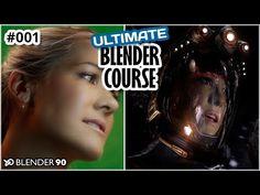 Ultimate Blender Course - Tutorial 001 Introduction - Blender 90 - YouTube
