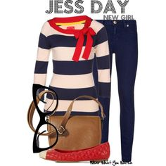 Inspired by Zooey Deschanel as Jessica Day on New Girl.