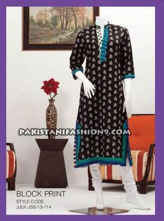 Junaid Jamshed Summer Kurties Collection 2013 For Girls