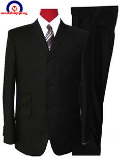 Modshopping - BLACK SUIT,MOD STYLE, £179.00 (http://www.modshopping.com/black-suit-mod-style/)