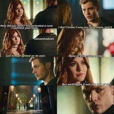 "#Shadowhunters 2x11 ""Mea Maxima Culpa"" - Clary and Jace"