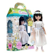 Wedding Gift for flower girl? Make the smallest member of your bridal party smile, as she plays dress-up with her super cute little flower girl doll. Boy Doll, Girl Dolls, Wedding Cards, Wedding Gifts, Wedding Doll, Flower Girl Gifts, Flower Girls, Wedding Favors Cheap, Cheap Favors