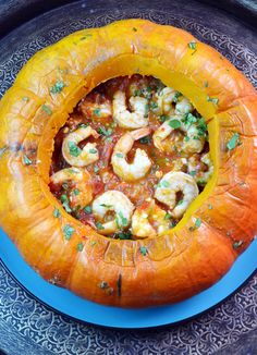 Shrimp in a Pumpkin (Camarao na Moranga), my best ever version of this classic Brazilian dish - Cynthia Presser