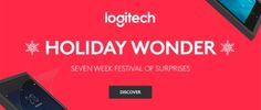Holiday Wonder #Logitech: indovina il prodotto e vinci