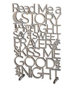 'Good Night' Word Wall Sign