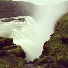 Gullfoss waterfall shot by Natasha one of our interns. Gullfoss Waterfall, Iceland Waterfalls, Beautiful Waterfalls, Arctic, Scenery, Around The Worlds, Tours, Magic, Adventure