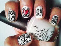 OPI designs white nail polish