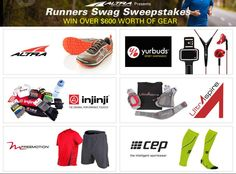 """WIN over $ 600 worth of running gear in the """"Runners Swag Sweepstakes"""" presented by Altra!"""