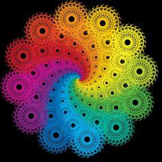 Rainbow Fractal by TheBaconBandit