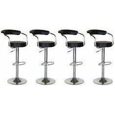 4 Modern Adjustable Counter Swivel Pub Style Bar Stools / Barstools Black Generic, http://www.amazon.com/dp/B005T5HY32/ref=cm_sw_r_pi_dp_ineQpb1TYK9N8