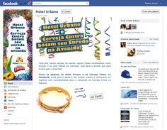 Criação Layout Carnaval Facebook Hotel Urbano!