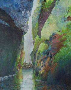 Painter's Process - Randall David Tipton: Hang on! Oneanta 2020 oil on canvas inches, cm Impressionist Landscape, Watercolor Landscape, Abstract Landscape, Paid Sick Leave, Kind And Generous, Oil On Canvas, David, Ocean, Painting