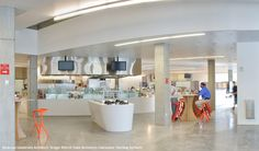 CASE STUDY: Syracuse University Dining Hall | HI-MACS® | A New Generation of Inspiration