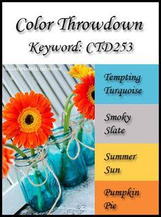 Color Throwdown: Color Throwdown #253 So vibrant and sunny!