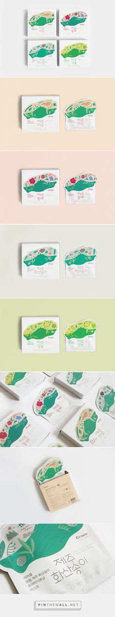 CIRACLE From jeju mask Packaging on Behance by Triangle Studio curated by Packaging Diva PD. I would try this based on the packaging.
