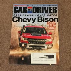 Car and Driver Magazine Chevy Bison April 2019 (Books, Back Issues) NEW Santa Fe Car, Car Magazine, Get Shot, Car And Driver, Bison, Chevy, Magazines, Books, Ebay